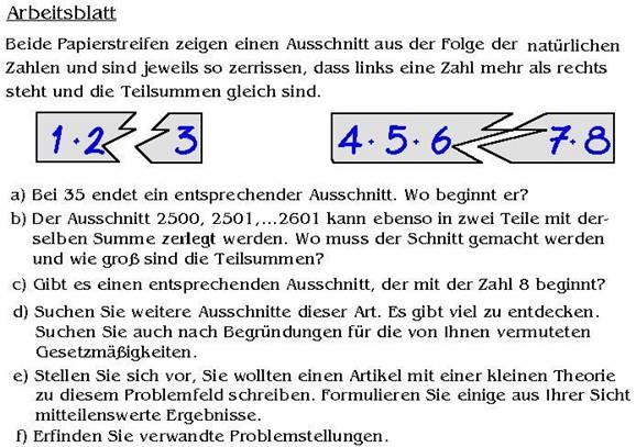 1+2=3 Seltsame Sequenzen